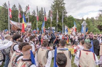 2021-ben is magukénak érzik az úzvölgyi katonatemetőt a románok