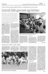 Udvarhelyi Híradó XXVIII. évfolyam, 95. szám