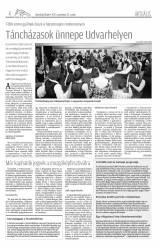 Udvarhelyi Híradó XXVIII. évfolyam, 180. szám
