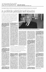 Krónika XX. évfolyam, 8. szám