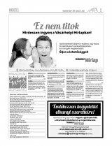 Vásárhelyi Hírlap XII. évfolyam, 49. szám