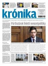 Krónika XX. évfolyam, 76. szám