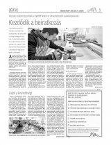 Udvarhelyi Híradó XXIX. évfolyam, 110. szám