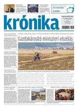 Krónika XX. évfolyam, 199. szám