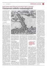 Székelyhon napilap I. évfolyam, 110. szám