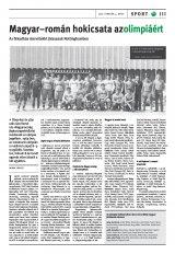 Székelyhon napilap II. évfolyam, 21. szám