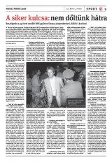 Székelyhon napilap III. évfolyam, 85. szám