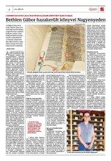 Székelyhon napilap III. évfolyam, 129. szám