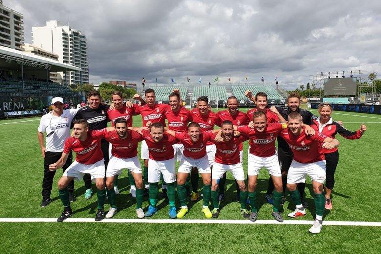 Csoportelsőként jutottak nyolcaddöntőbe a kispályás fociválogatottak