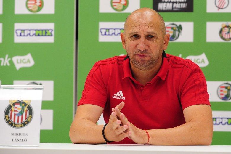 Néhány hónapig tartott Vasile Miriuță magyarországi edzősködése
