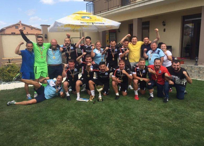 Országos bajnok a Marosvásárhelyi Nova Vita minifocicsapata