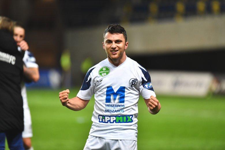 Tamás Nándor első gólját szerezte a magyar élvonalban