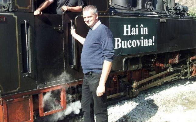Hobbivasutasból gőzösök újjáélesztője: Georg Hocevar osztrák vállalkozó, a Romániai Kisvasutak Megőrzéséért Egyesület elnöke