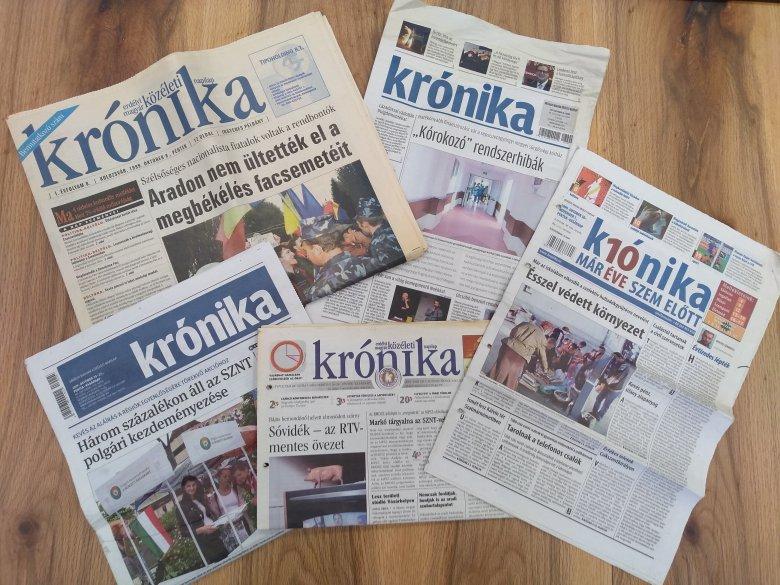 Ami összeköti az erdélyi embereket – A Krónika 20. születésnapjára