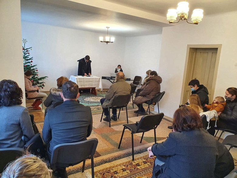 """Új imaház Apahidán: """"őrült"""" iramú történet"""