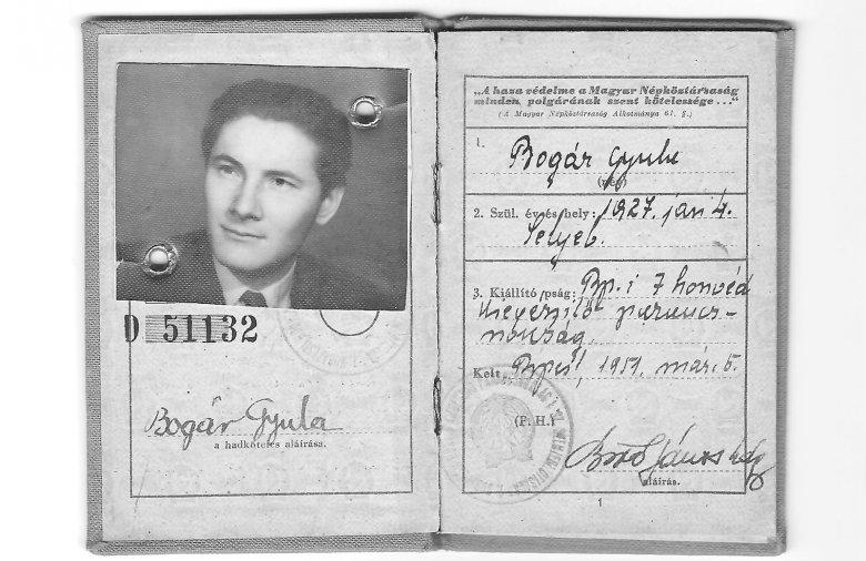 Budapest ostroma a frontharcos szemével – Bogár Gyula második világháborús honvéd visszaemlékezése