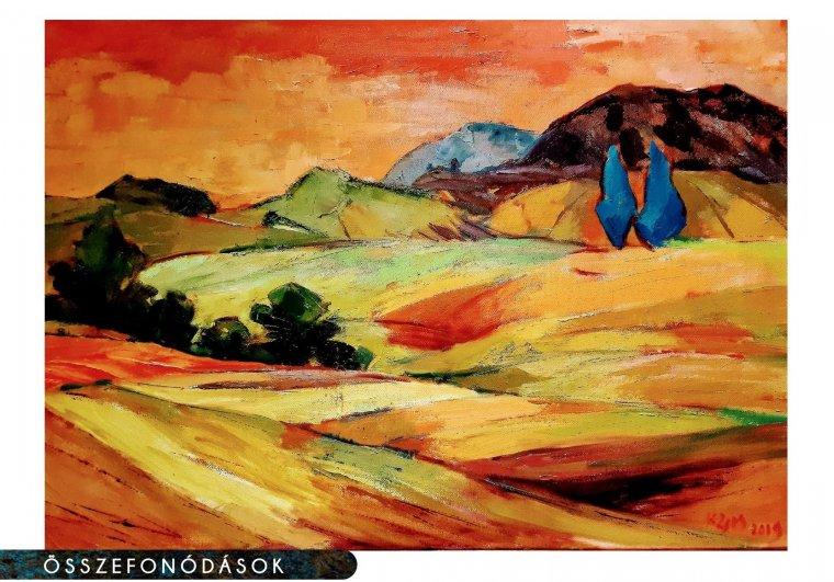 A gyökerek Erdélyben maradtak – beszélgetés Katona-Zsombori Mária Magyarországon élő festőművésszel