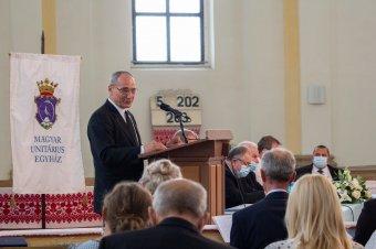 Kovács István az új unitárius püspök