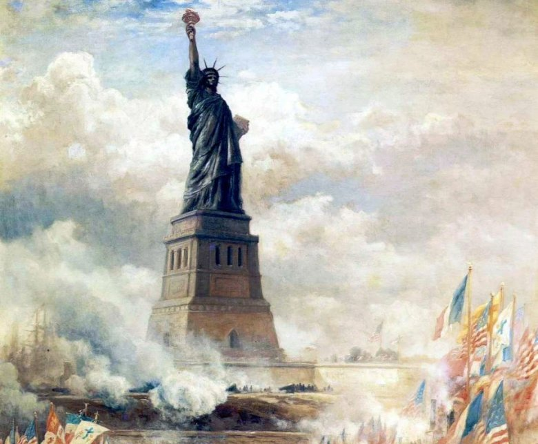 Szabadság-szobor: a hölgy, aki a vándorokat üdvözli