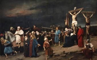 A magyar kormány megvásárolta Munkácsy Golgota című festményét