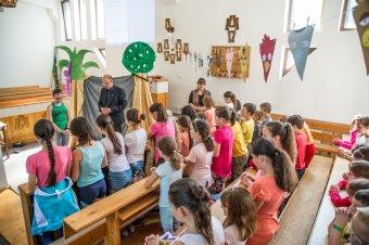 Vakációs bibliahét: játékos együttlét és tanulás