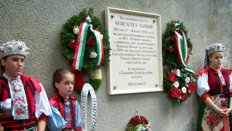 Száz éve született Keresztes Sándor, a KDNP alapítója