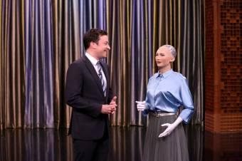 Sophia, a világ első robotállampolgára