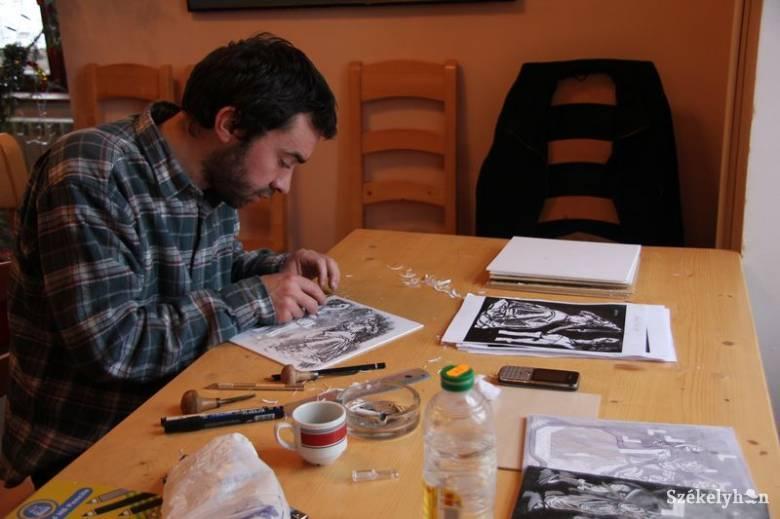 Litvániában alkothat a szárhegyi grafikusművész