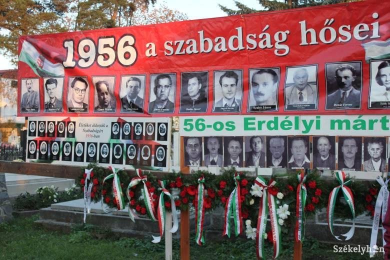 Forgalmas helyszínre viszik az '56-os megemlékezést Gyergyószentmiklóson