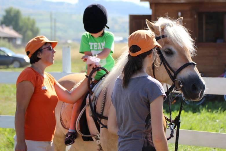 Ismét lehet jelentkezni lovas terápiára Gyergyószentmiklóson