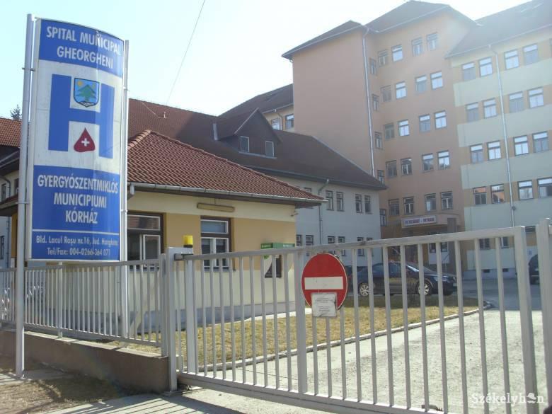 Látogatókat érintő változások léptek érvénybe a gyergyószentmiklósi kórházban
