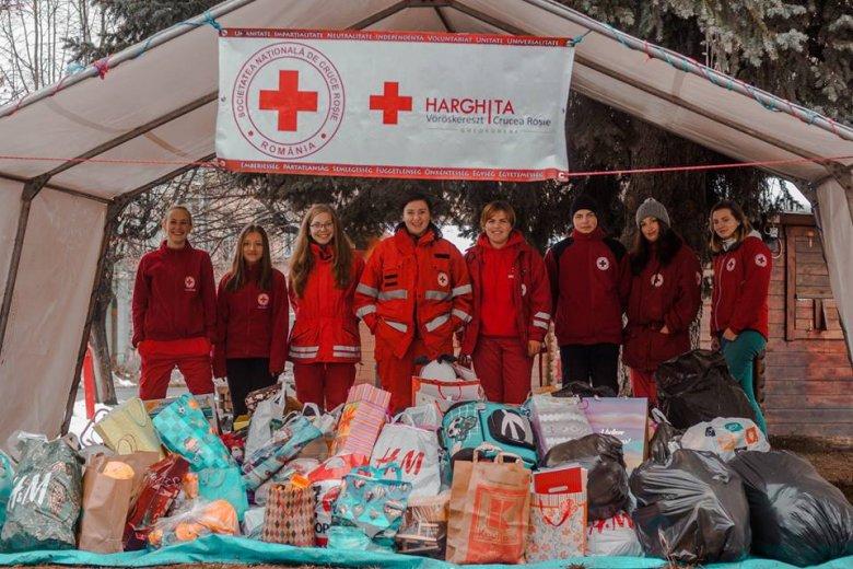 Idén is meghirdette segélyező akcióját a gyergyószentmiklósi Vöröskereszt