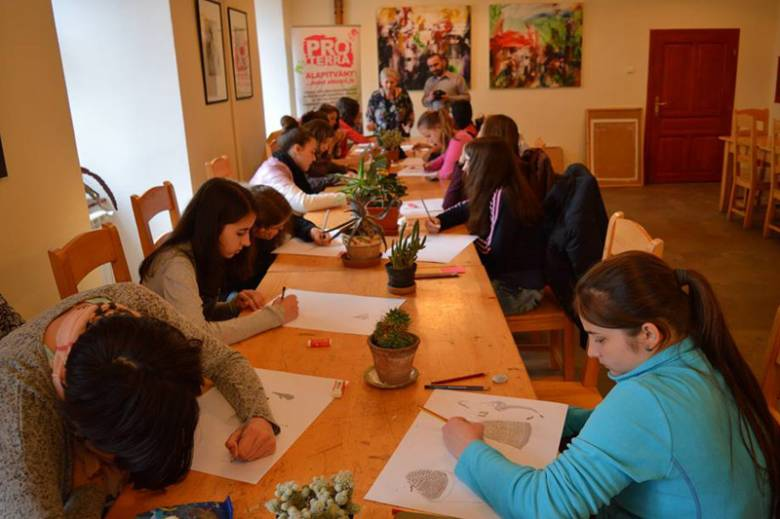 A Pro Terra Alapítvány idén is várja a képzőművészeti iskolába készülőket
