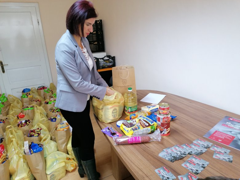 Több mint fél tonna élelmiszer gyűlt össze egy hét alatt