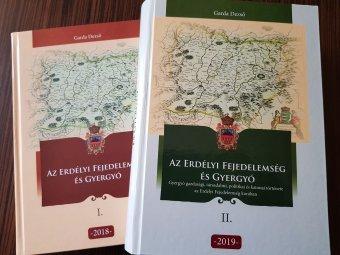 Garda Dezső új könyve: Erdély történelme Gyergyóból nézve