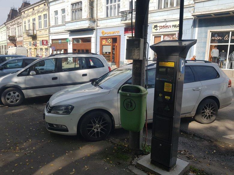 Az új városvezetésre hárul a gyergyószentmiklósi parkolóautomaták beüzemelése