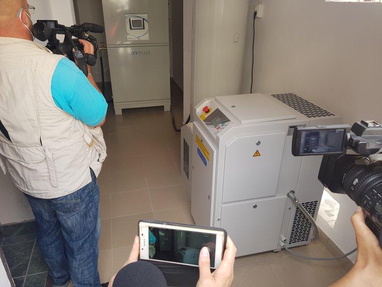 Új orvosi műszerekkel bővült a gyergyószentmiklósi kórház, hamarosan az épület modernizálása következik