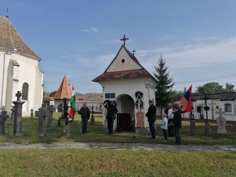 Az aradi vértanúkról emlékezett meg a gyergyószentmiklósi örmény közösség