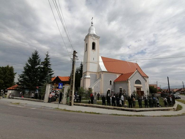 Mária Magdolna tisztelete a gyergyókilyénfalvi templombúcsún