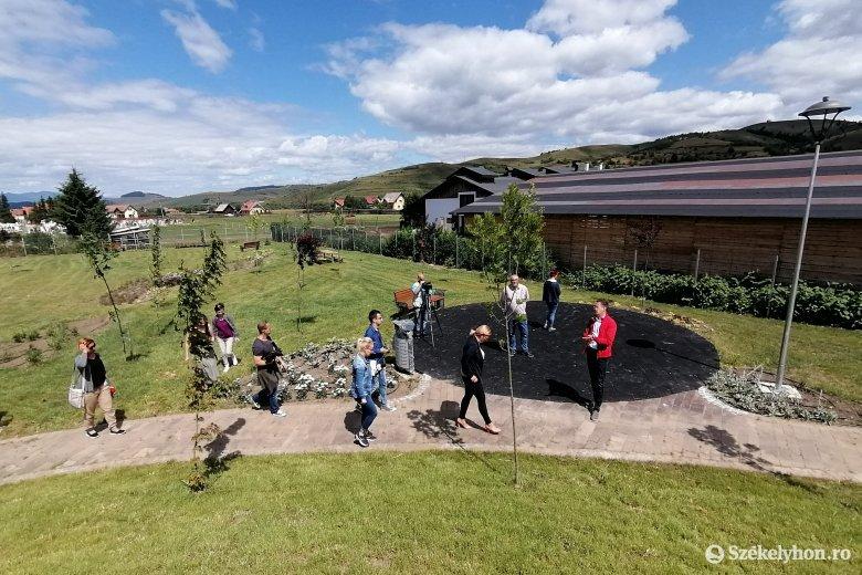Elkészült a gyergyószentmiklósi szabadidős park, az átadás még várat magára