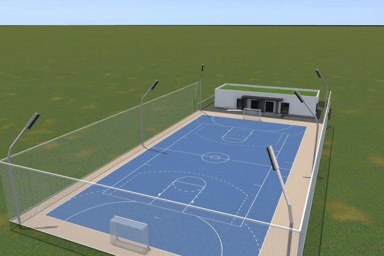 Sportpálya egészíti majd ki a közösségi teret