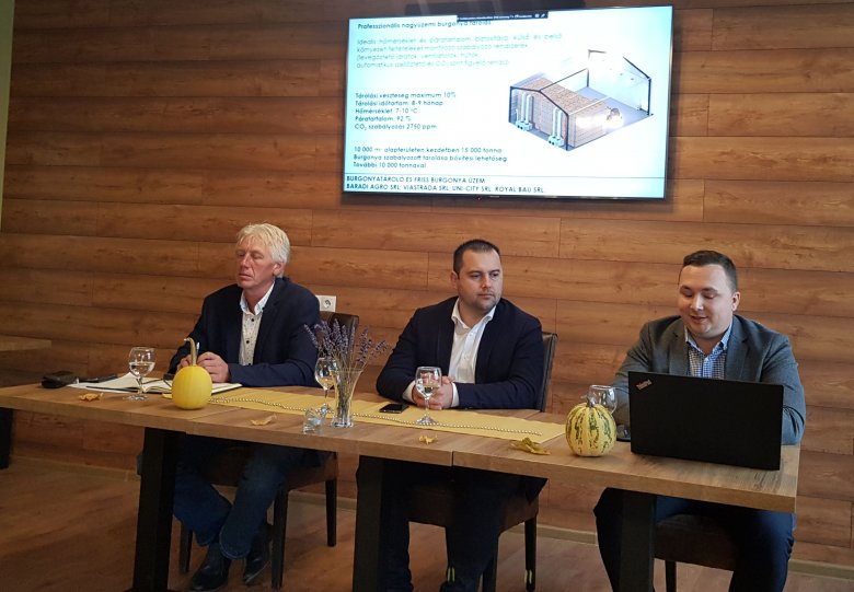 A kelet-európai régió legnagyobb kapacitású krumplifeldolgozó üzeme létesül Székelyföldön
