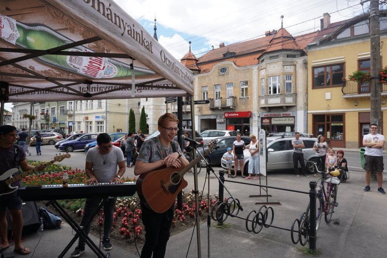 Újabb utcazene-fesztiválra készülnek Gyergyószentmiklóson