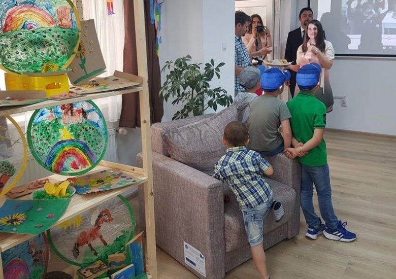 Ifjúsági ház, délutáni foglalkoztató nyílt Gyergyóújfaluban
