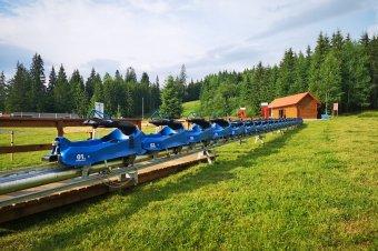Beindul a nyári bobpálya Borszéken