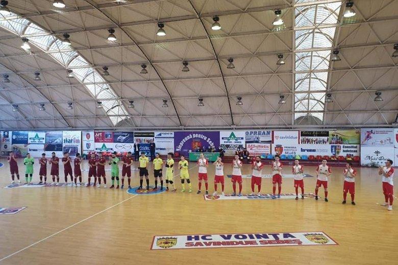 A Temesvári CFR jutott fel a futsal élvonalba