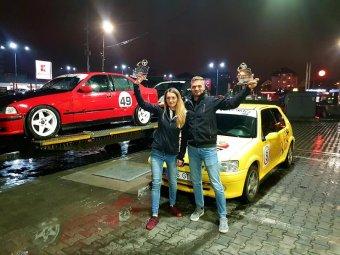 Tapasztalatok, érmek a gyergyószentmiklósi autóversenyzőknek