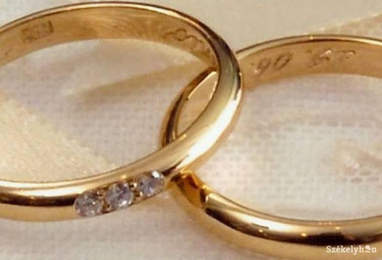 Maros megyében váltak a legtöbben, Brassóban kötötték a legtöbb házasságot októberben az ország központi régiójában