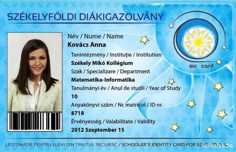 Hódít a székely diákigazolvány 4b92f40b61