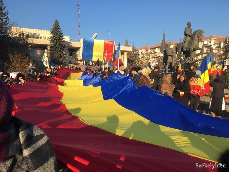 """Sepsiszentgyörgyön """"ünneplik"""" a trianoni döntés évfordulóját a román nacionalisták"""